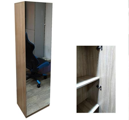 ארון איחסון בעל 8 תאי אחסון ודלת עם מראה מתאים לכל חדרי הבית - תמונה 3