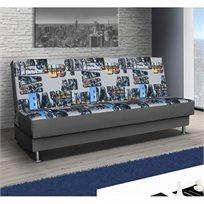 ספה מעוצבת נפתחת למיטה זוגית עם ארגז מצעים דגם אנדורה