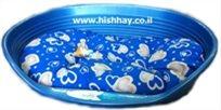 מיטה לכלב פרפלסט 6 פלסטיק+מזרן