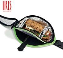 תיק ספורט תרמי עם תא רשת נוסף לבקבוק שתיה מבית iris