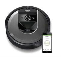 שואב אבק רובוטי +iRobot Roomba i7 בעל מערכת אוטומטית לסילוק פסולת - משלוח חינם