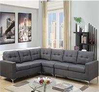 מערכת ישיבה עם צדדים מתחלפים דגם אפלוסה מבית VITORIO DIVANI