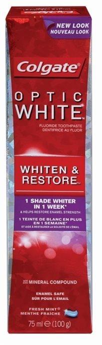 Colgate Optic White Whitem & Restore