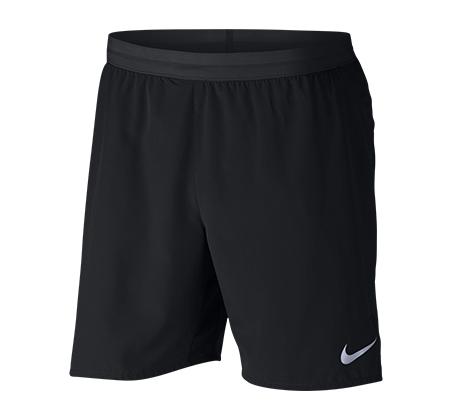 מכנסי אימון קצרים לגברים - שחור