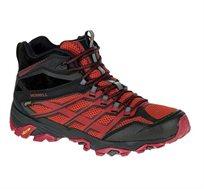 נעלי הליכה וטיולים לגבר MERRELL דגם J35743 בצבע אדום/שחור