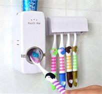 מתקן משולב למשחות ומברשות שינים
