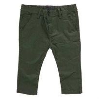 מכנסי ORO לילדים (מידות 2-16 שנים) ירוק זית קלאסי