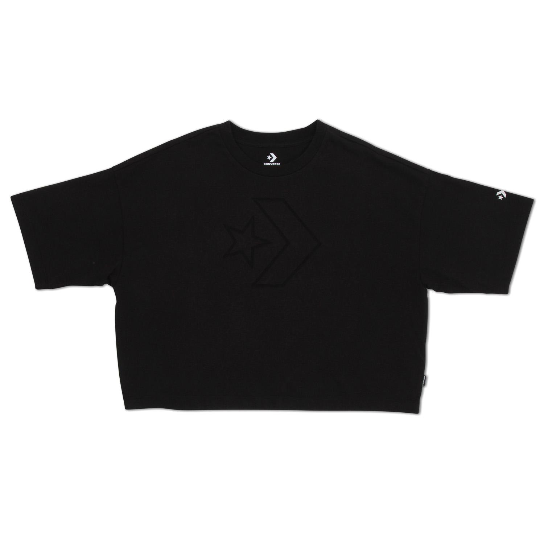 Converse נשים //Women's Knit T-Shirt Black