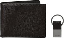 Calvin Klein Leather Wallet/Key Set