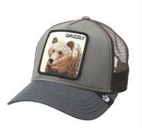 GOORIN יוניסקס// GRIZZ OLIVE כובע מצחיה חיות