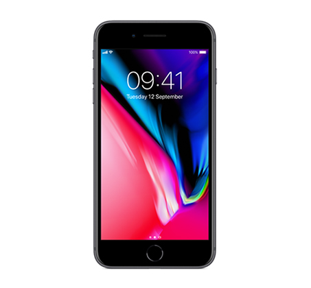סמארטפון  iPhone 8 Plus 64GB  צבע שחור