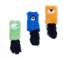 משחק לחתול כרית עם קטניפ Petsland עשויה מבד נעים עם חיבור של זנב מפנק במגוון צבעים לבחירה