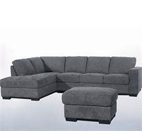 ספה פינתית בריפוד בד או דמוי עור VITORIO DIVANI דגם רנאטה