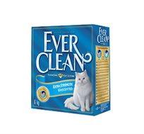 4+1 יחידות חול מתגבש לחתול אברקלין 10 ליטר עם גרגרי פחמן פעיל המונעים ריח רע