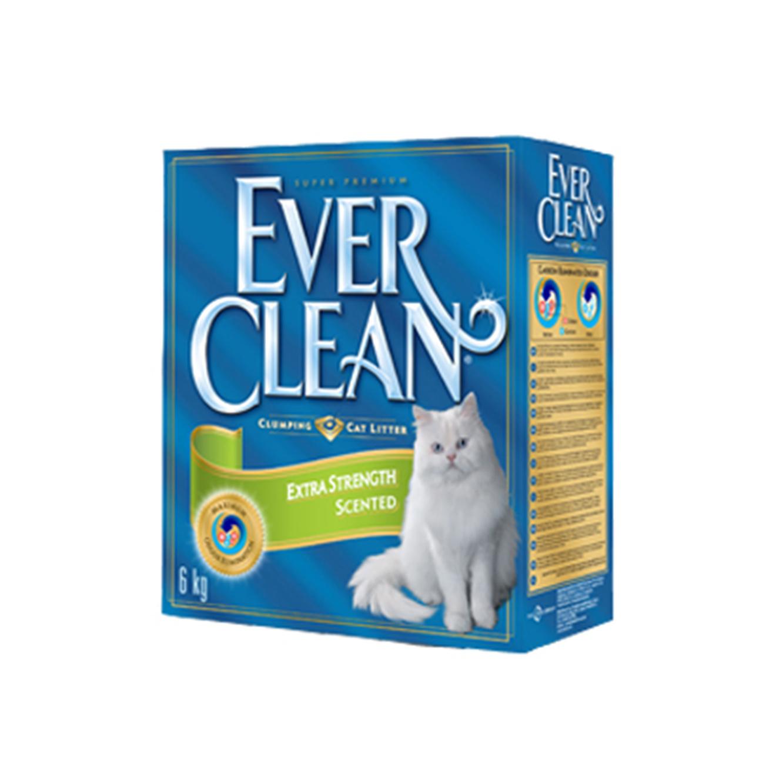 4+1 יחידות חול מתגבש לחתול אברקלין 10 ליטר עם גרגרי פחמן פעיל המונעים ריח רע - תמונה 3