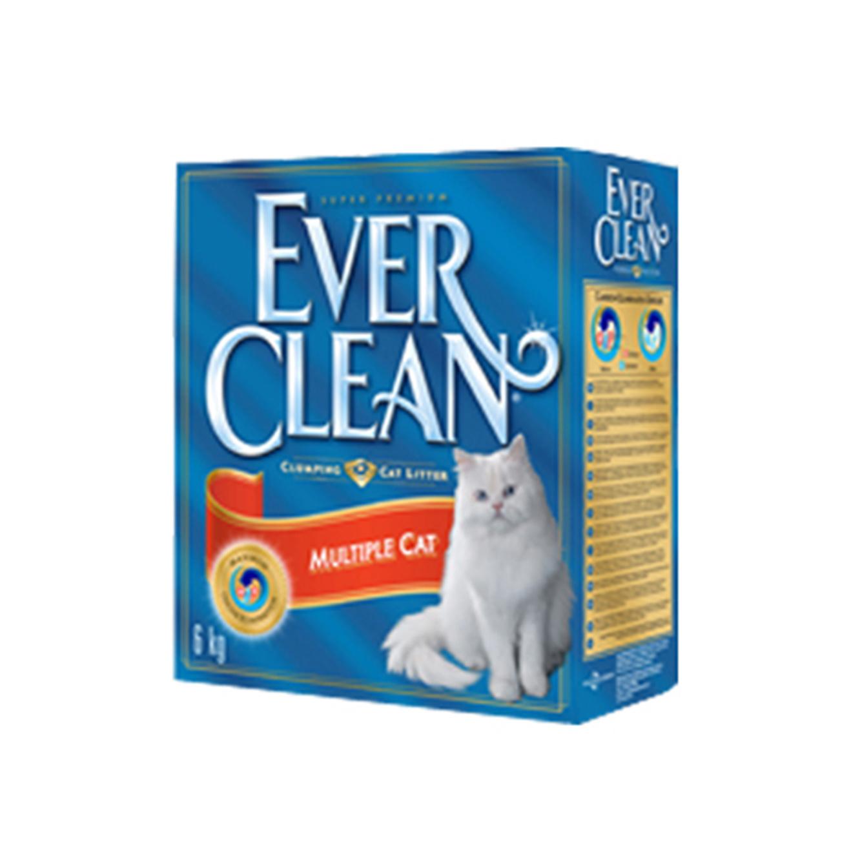 4+1 יחידות חול מתגבש לחתול אברקלין 10 ליטר עם גרגרי פחמן פעיל המונעים ריח רע - תמונה 4