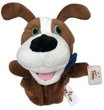 בובת כפפה גדולה עם אפקטים קוליים לפעוטות - כלב