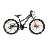 אופני הרים בצבע שחור וכתום