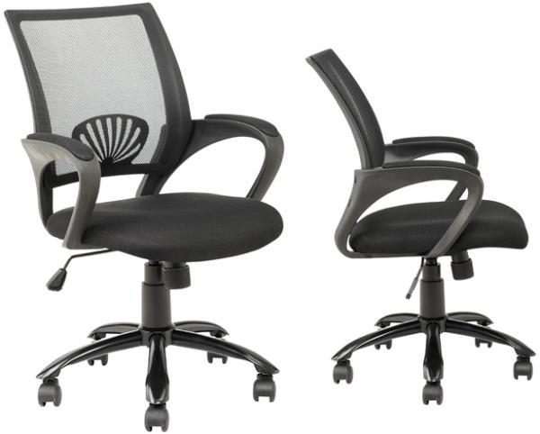 כיסא משרדי עשוי בד נושם עם מבנה ארגונומי המקנה תמיכה לכל הגוף לישיבה ממושכת - תמונה 3