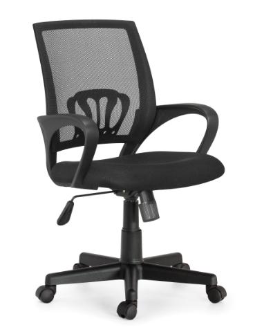 כיסא משרדי עשוי בד נושם עם מבנה ארגונומי המקנה תמיכה לכל הגוף לישיבה ממושכת - תמונה 2