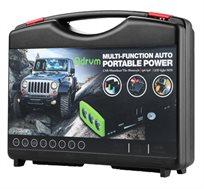 """קיט מיני בוסטר משולב קומפרסור + PowerBox להתנעת רכבים עד 3500 סמ""""ק בנזין"""
