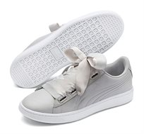נעלי סניקרס Puma Vikky V2 Ribbon Core לנשים בצבע אפור