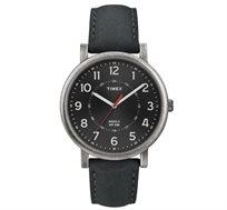 שעון יד אנאלוגי לגבר TIMEX דגם TI-2P219 עם תאורת מסך INDIGLO עשוי פלדת אל חלד ועמיד במים