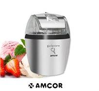 מקררים את הקיץ! מכשיר להכנת גלידה דגם ICE1513 מבית AMCOR, בעל מיכל גדול וזמן הכנה ממוצע בין 15-25 דק