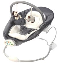 נדנדה חשמלית שקטה במיוחד משולבת טרמפולינה לתינוק By-011