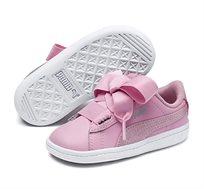 נעלי סניקרס Puma Vikky Ribbon L Satin AC לילדות בצבע ורוד