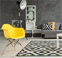 כיסא בעיצוב מודרני לפינת אוכל ולמשרד בעלי רגלי עץ דגם דקוטה במגוון צבעים לבחירה