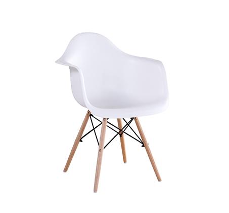 כיסא בעיצוב מודרני לפינת אוכל ולמשרד בעלי רגלי עץ דגם דקוטה במגוון צבעים לבחירה  - תמונה 2