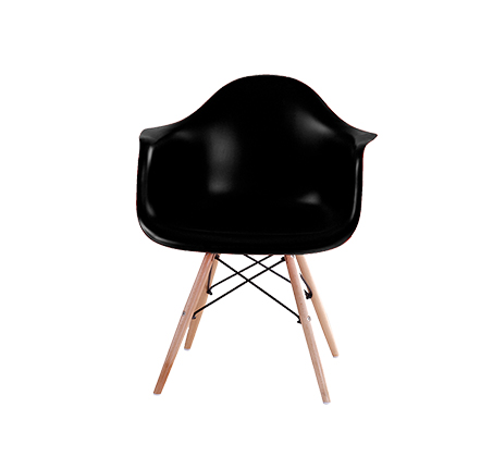 כיסא בעיצוב מודרני לפינת אוכל ולמשרד בעלי רגלי עץ דגם דקוטה במגוון צבעים לבחירה  - תמונה 5