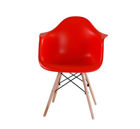 כיסא בעיצוב מודרני לפינת אוכל ולמשרד בעלי רגלי עץ דגם דקוטה במגוון צבעים לבחירה  - תמונה 3