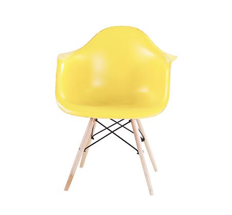 כיסא בעיצוב מודרני לפינת אוכל ולמשרד בעלי רגלי עץ דגם דקוטה במגוון צבעים לבחירה  - תמונה 4