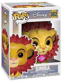 Funko Pop - Simba Flocked (Lion King) 302 בובת פופ אקסלוסיבי