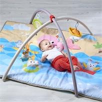 אוניברסיטה לתינוק 2 ב 1 חוף ים משולבת בשמיכת פעילות