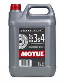 נוזל בלמים Motul דוט 3 ו5l 4