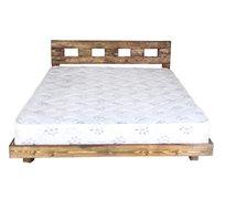 מיטה זוגית מעץ אורן מלא אולימפיה ומזרן מתנה במגוון צבעים לבחירה