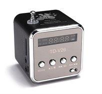 רמקול נייד לטלפון סלולרי ונגן MP3 דגם QC-28