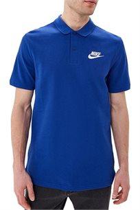 חולצת פולו Nike לגברים בצבע כחול רויאל