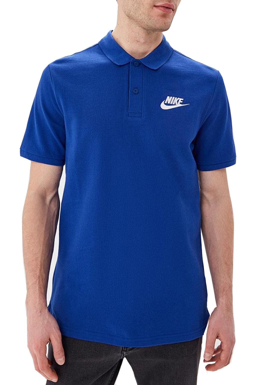 חולצת פולו לגברים - כחול רויאל