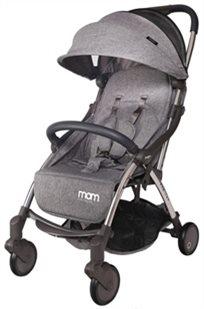 טיולון קומפקטי לתינוק עם קיפול אוטומטי Tik Tak - אפור