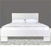 מיטה מעוצבת עשויה עץ + מזרן קפיצים מתנה