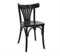 כסא עץ לשימוש בכל חדרי הבית דגם מניפה