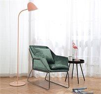 כורסת יחיד בעיצוב מודרני בעלת ריפוד לישיבה נוחה ונעימה לסלון או למשרד