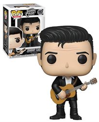 Funko Pop - Johnny Cash (Johnny Cash) 117 בובת פופ ג'וני קאש