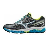 נעלי ריצה לגבר MIZUNO WAVE PARADOX 3 דגם J1GC161202 בצבע אפור כהה לבן וכחול