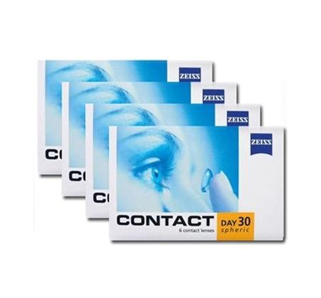 עדשות מגע חודשיות Zeiss גרמניה כוללות מסנן UV רק ₪75 לחבילה! מארז של 4 חבילות למשך שנה - משלוח חינם - תמונה 2