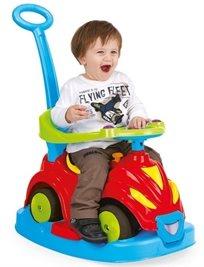 בימבה 4 ב 1 Smile Car צבעונית